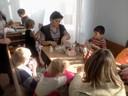 Занятие с педагогом Новоуральской детской школы искусств.