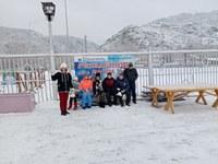 В новогодние каникулы наши воспитанники посетили резиденцию Деда Мороза.